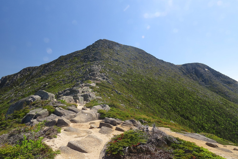 The last of it before the plateau, the upper part is steep!.JPG