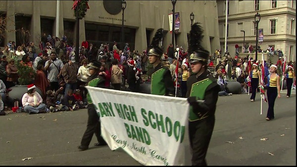 2009-11-21 Raleigh Christmas Parade - TV Coverage