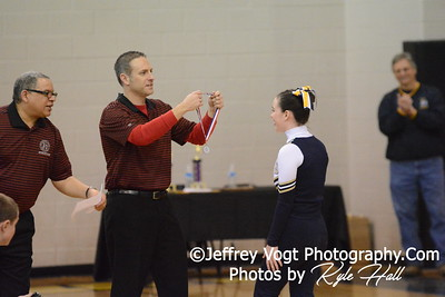 2-14-2015 BCC HS Varsity Poms at Richard Montgomery HS MCPS Championship, Photos by Jeffrey Vogt Photography with Kyle Hall