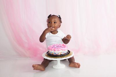 Mykhia 1st Birthday