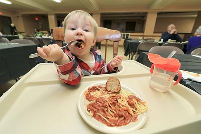 Spaghetti Dinner Fitchburg, January 9, 2019