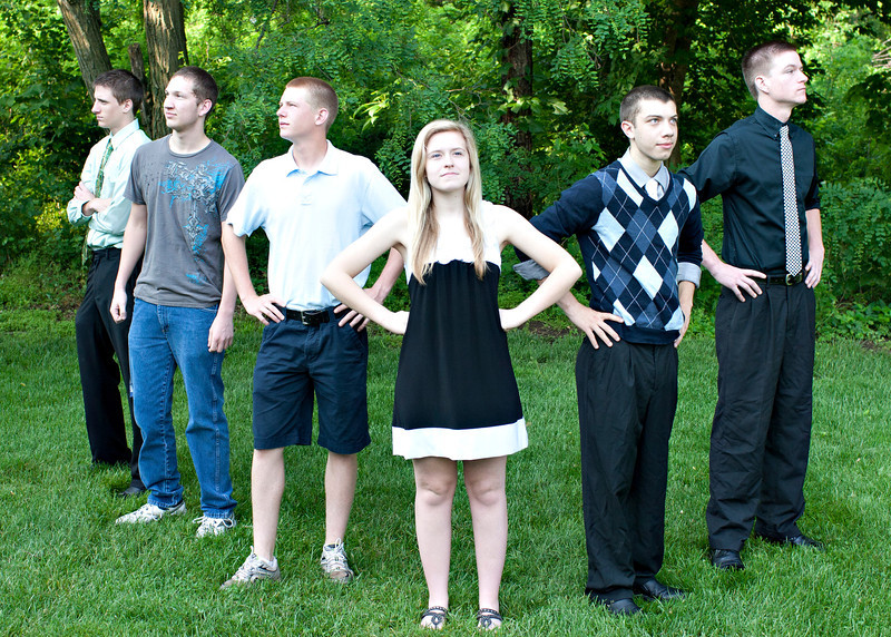 in light of the AVENGERS...we did our SUPER HERO pose...This is cropped as a 5 by 7.