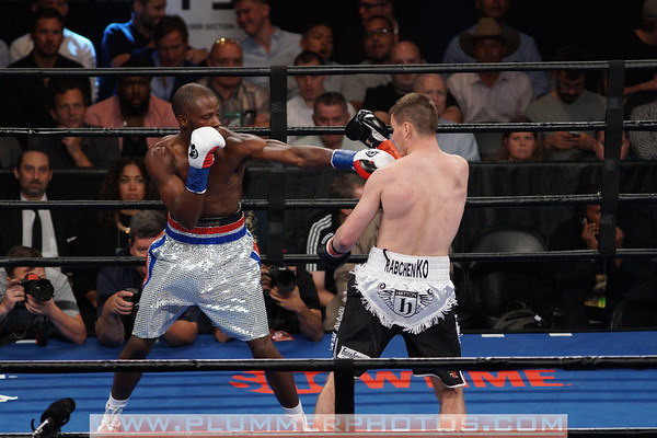 Tony Harrison Defeats Sergey Rabchenko by 9th Round TKO