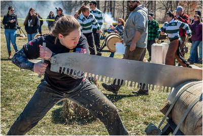 Woodsmen Meet Cobleskill NY April 2018
