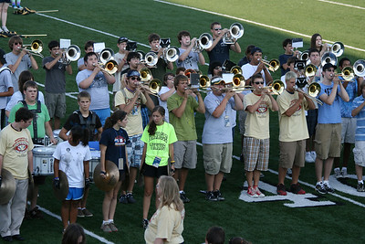 BHS Band - Concert on the Green - 08/12/2008