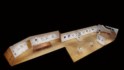Carl Benton Straub Exhibit: Matterport Images