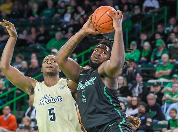 12.04.19 Marshall Basketball vs. Akron