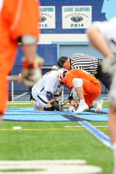 Wappingers Warriors Vs. Mamaroneck HS, Boys Lacrosse, April 11, 2019