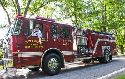 Raccoon Township Fire Department parade