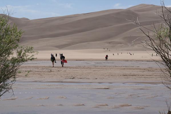 Sand Dunes, June 2009
