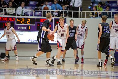Basketball State SVB vs Box Elder 3-1-2011