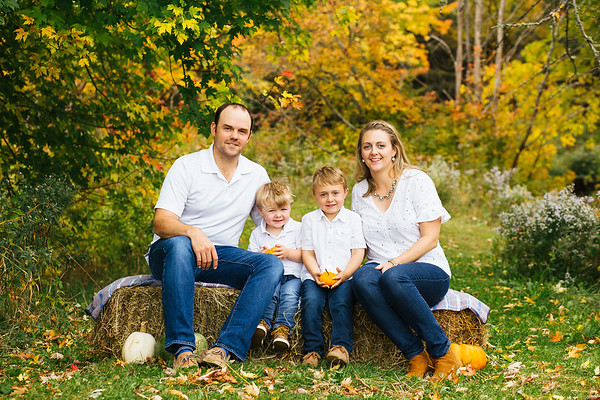 Fall Family Mini Sessions-The Hansons