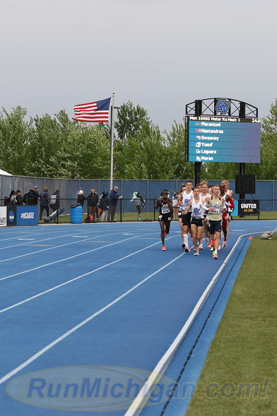 10000M Men - 2021 NCAA Division II Outdoor Track & Field Championships
