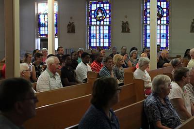 Last Mass at St. Mary's Chapel