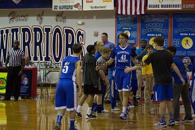 2016-17 Newberry Academy Varsity Boys Basketball