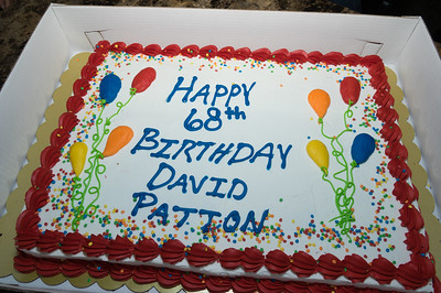 Pictures of David Patton 68th Birthday Party