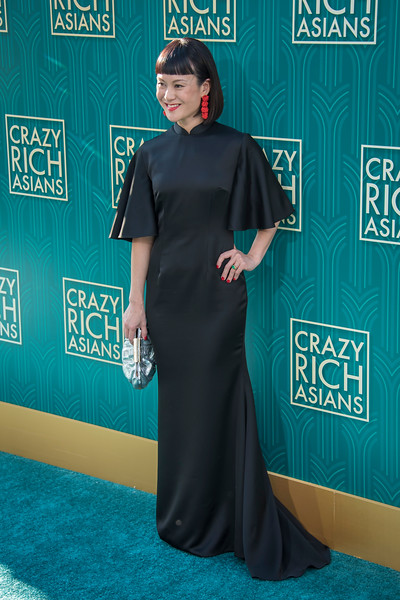 HOLLYWOOD, CA - AUGUST 07: Janice Koh arrives at Warner Bros. Pictures' 'Crazy Rich Asians' Premiere at TCL Chinese Theatre IMAX on Tuesday, August 7, 2018 in Hollywood, California. (Photo by Tom Sorensen/Moovieboy Pictures)