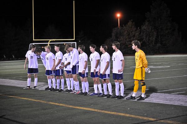 Varsity Boys vs DeSmet 11/4/20 Loss 1-5