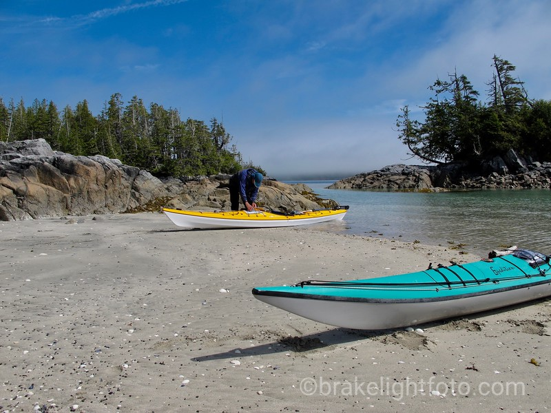 Lunch Stop in the Laidlaw Islands
