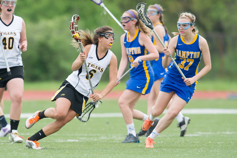Hampton JV Girls Lax at NA
