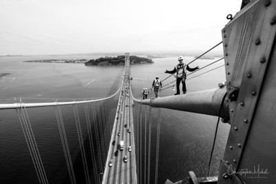 Bay Bridge Cable Climb
