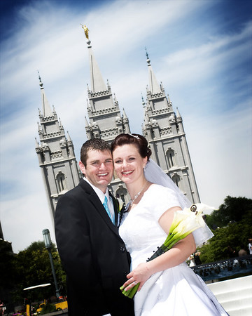 Salt Lake Temple Weddings