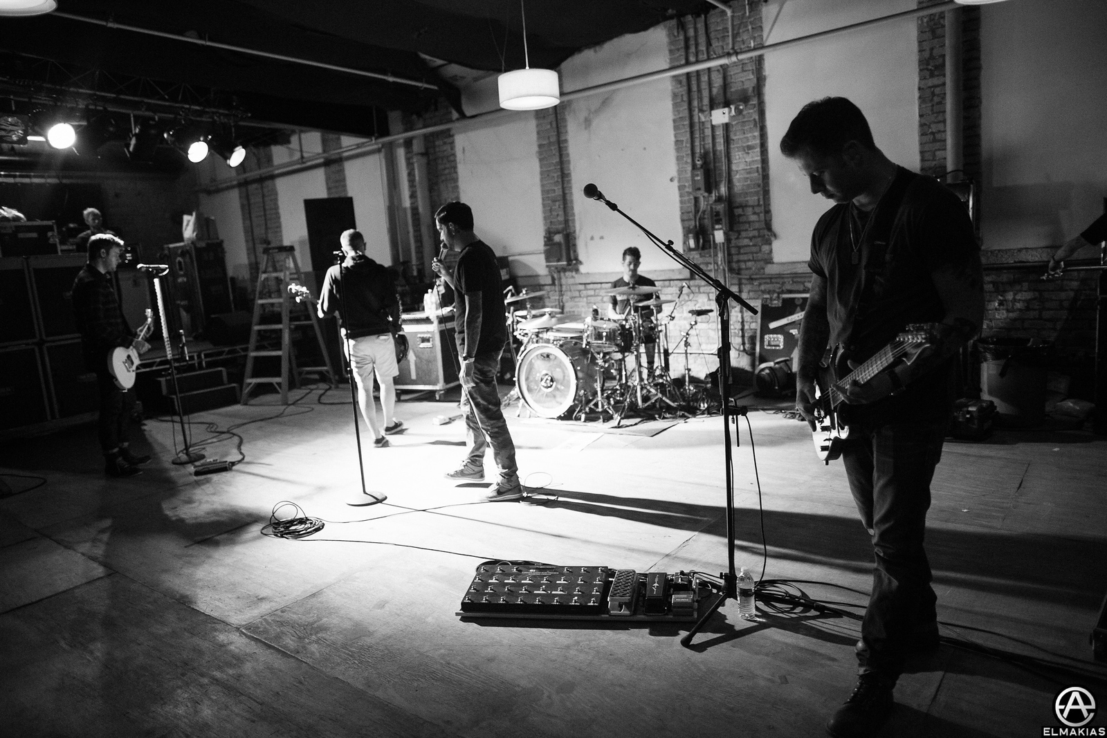 A Day To Remember rehearsals in Chicago