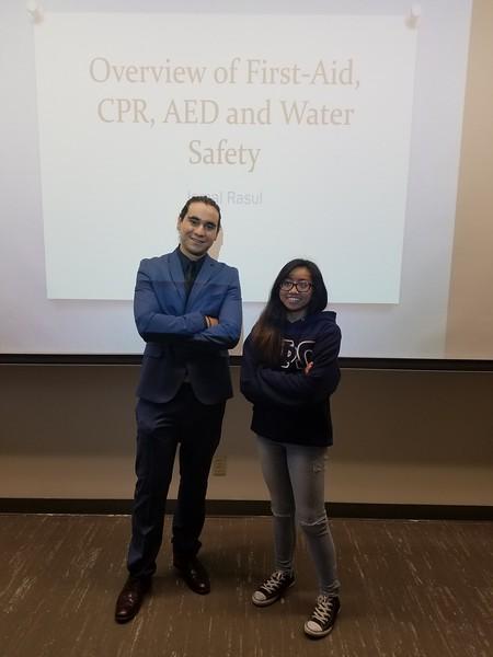 First Aid, CPR, AED workshop by Jamal Rasul
