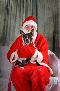Genesis Dog Rescue Santa Photos - 2013.12.07