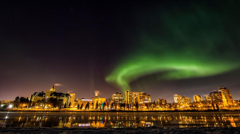 Aurora's Over Saskatoon
