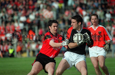 Shane Mullholland Down & Paul Hearty Armagh Keeper
