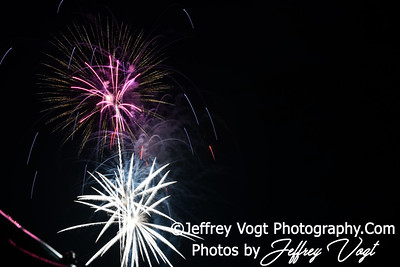 07/03/2019 Fourth of July Holiday Fireworks, Mt Airy Carnival Fireworks, Photos by Jeffrey Vogt Photography