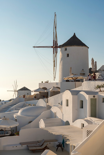 Windmill, Oia, Santorini