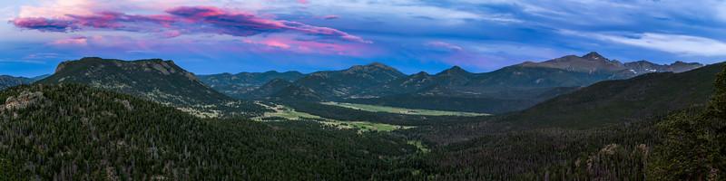 Summer on Trail Ridge Road Panorama