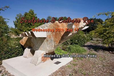 Sculpture & Culture Run - Wed 20 Sep 2017