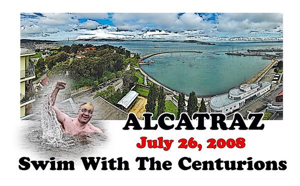 Alcatraz Centurion Swim  2008