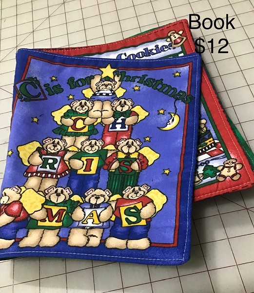 QUILTED BABY BOOK