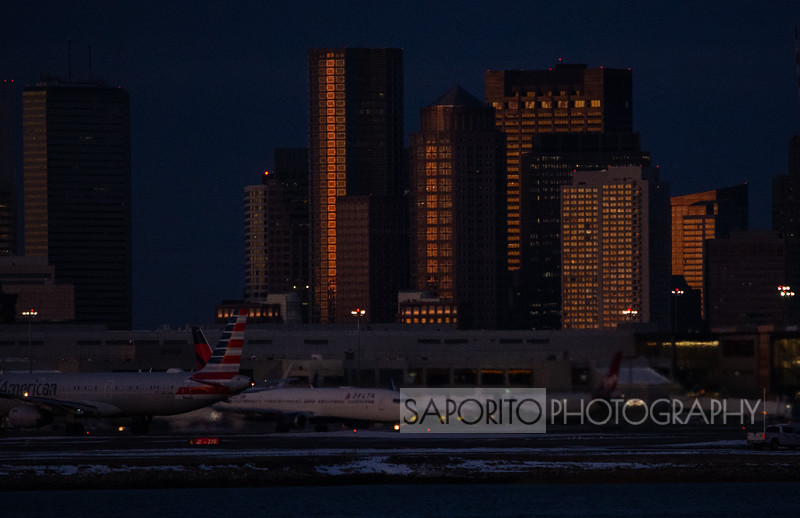 Boston Skyline at Dawn