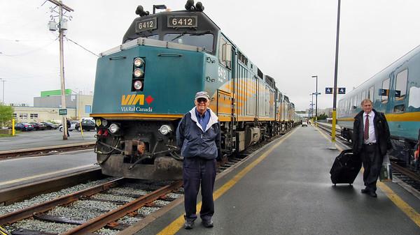 Via Rail THE OCEAN - Montreal-Halifax, NS
