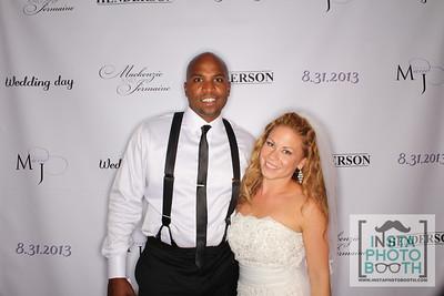 8.31.2013 - Mackenzie & Jermaine's wedding
