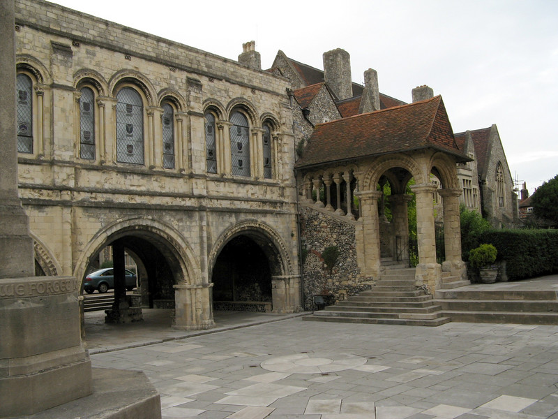 The King's School.  On the Cathedral grounds.