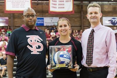 2014 FSU Volleyball v NC State
