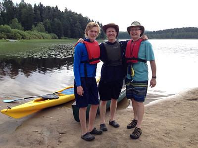Father-Son-Grandson Canoe Trip