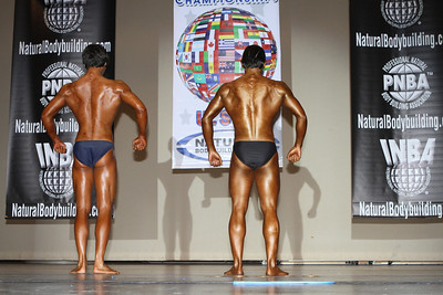 2012 INBA World Cup Natural Pre-Judging in Hollywood, CA