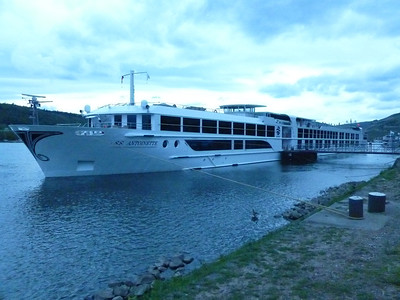 ss Antoinette Uniworld River Boat in Europe