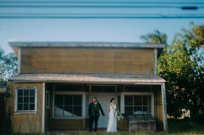 Melissa and Chris // Hawi Wedding