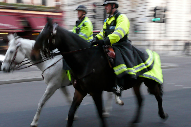Horse-Mounted Police. London