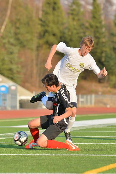 April 30, 2014: South Anchorage High School vs. Juneau-Douglas High School Boys Soccer