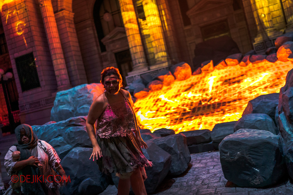 Halloween Horror Nights 7 - Pilgrimage of Sin / Fiery Ritual Belle