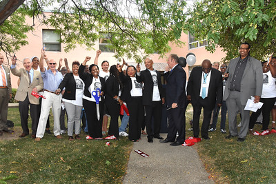 City welcomes ROC HUB to Corn Hill. 9/9/2016